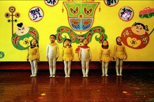À l'école, les enfants ouïgours doivent suivre les cours en chinois.