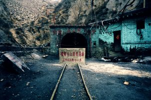 Mine privée de Sancakou. La mine a été fermée en novembre 2006 à cause d'un accident ayant tué deux mineurs. Déjà fermée en décembre 2005 pour les mêmes raisons, elle avait rouvert quelques mois plus tard.